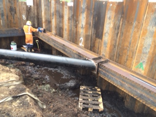 Watercare Coffer Dam Fabrication and Installation