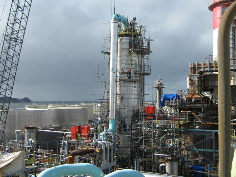 imgSPIIND fabricated Main Discharge Pipeline Spool installation at Refining NZ