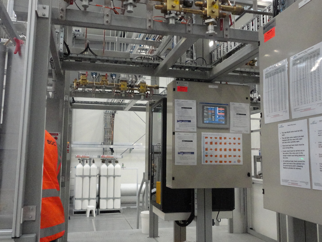 imgBOC Medical Gas Filling Facility Build & Commissioning